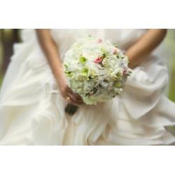 Bruidsboeket white