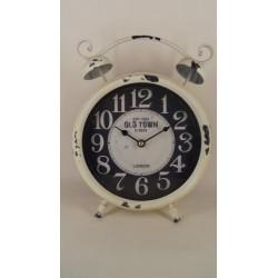 ouderwetse klok wit