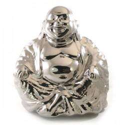 Zilveren Boeddha groot