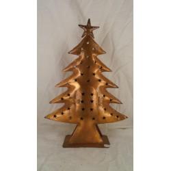 Bronzen kerstboom