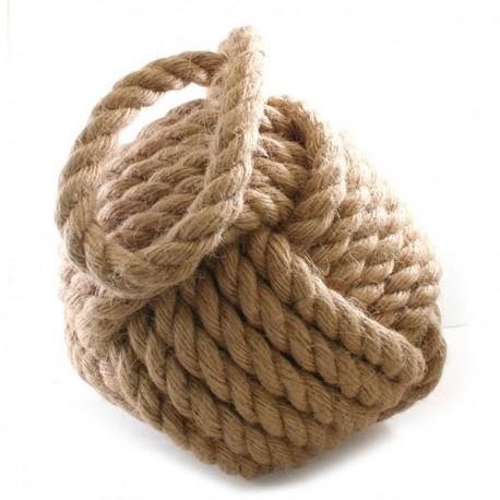 Deurstopper van touw